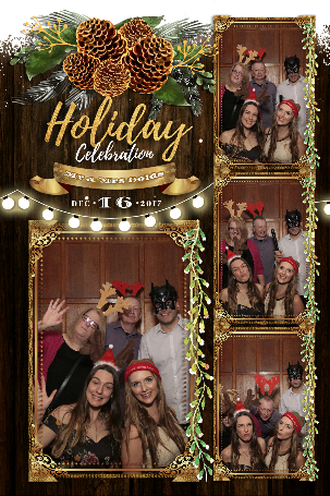 christmas party photo booth hire Lambourn
