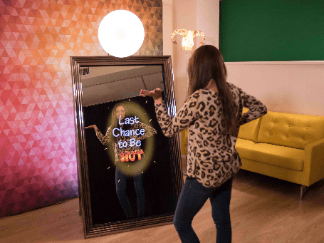 magic mirror photo booth hire West_Wycombe