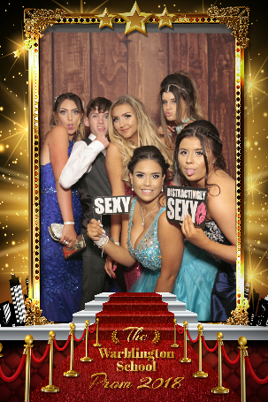 prom photo booth hire Eastbourne