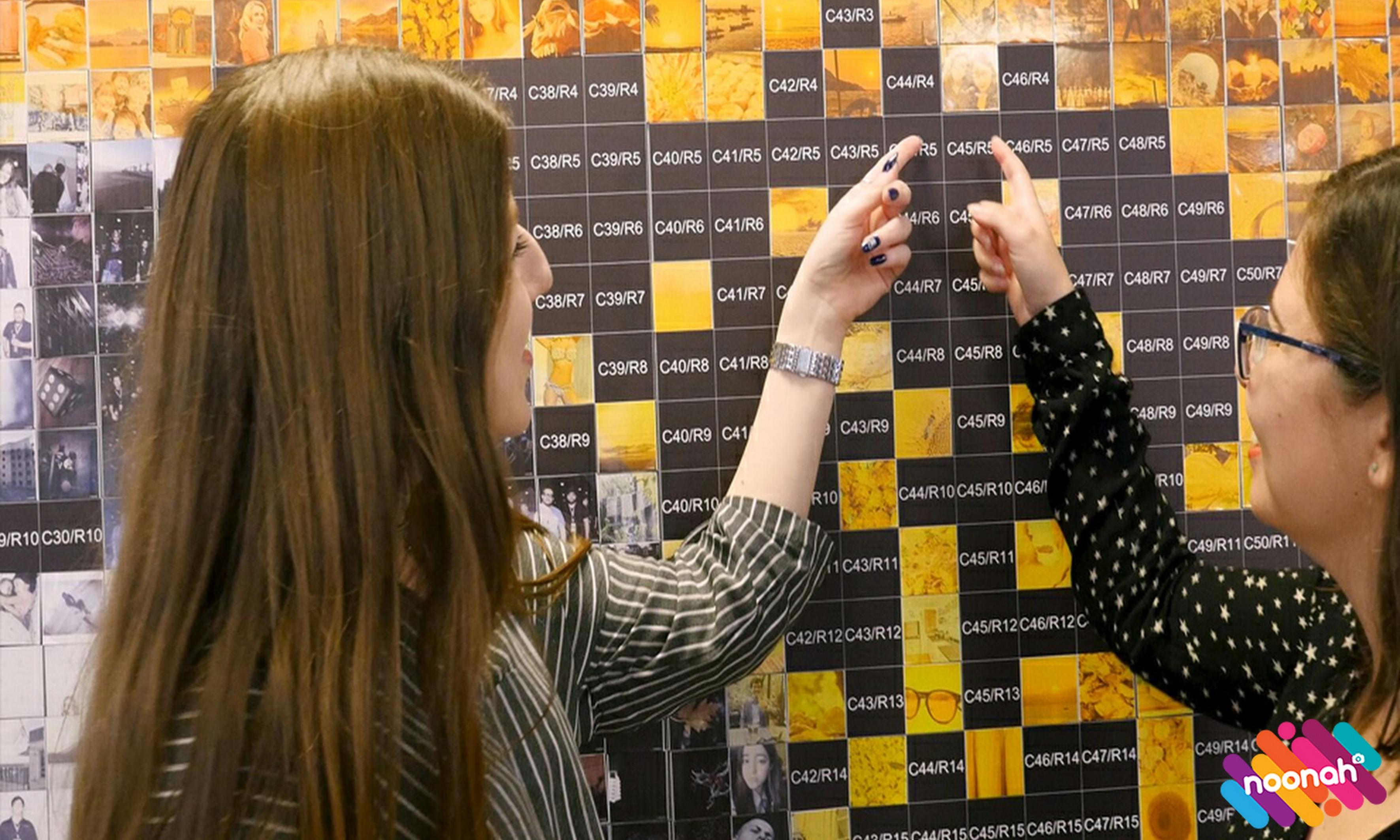 Photo Mosaic Wall Hire Sample