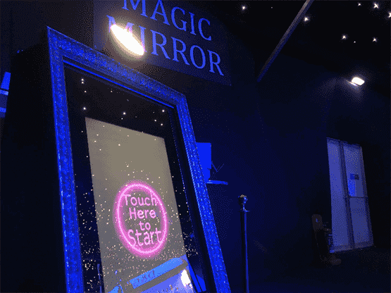 Corporate Magic Mirror Photo Booth Portsmouth