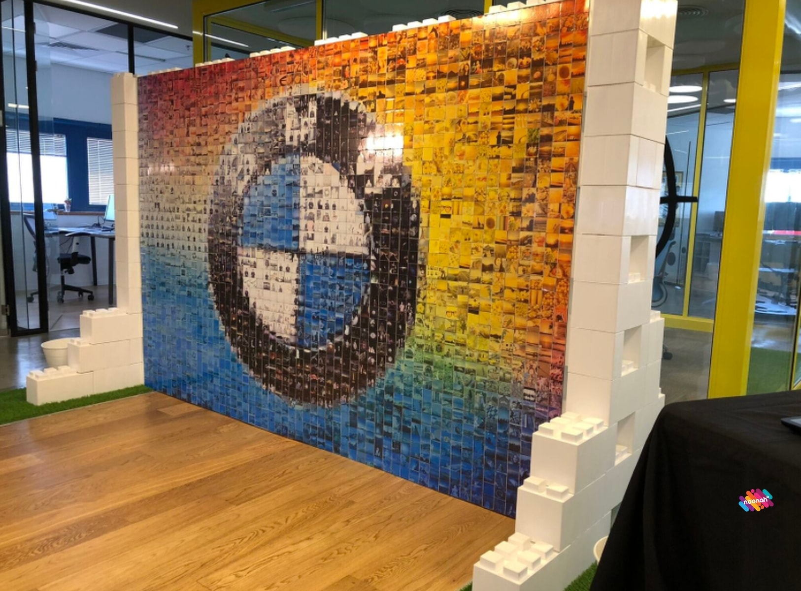 Corporate & Party Photo Booth Hire London Mosaic Wall