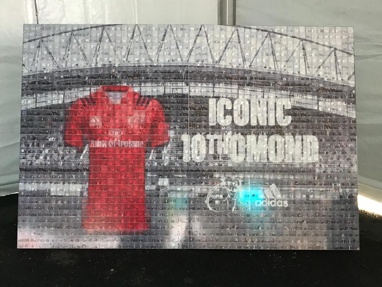 Photo Booth Hire Mosaic Wall Adidas
